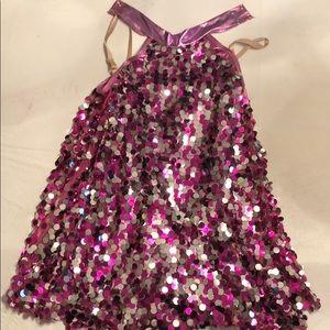 💚 2/30 HP!! Fuchsia Sequin Dance Costume